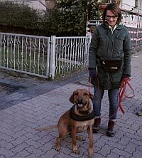 Bianca mit Otis