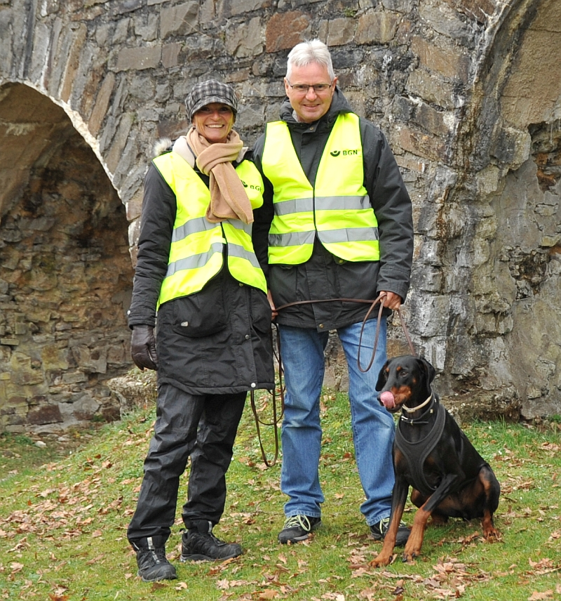 Helen & Ludger mit Hanka
